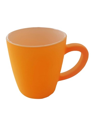 Orange-White Neon Mug-Rakle